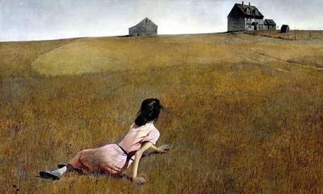 Christina's World - Andrew wyeth
